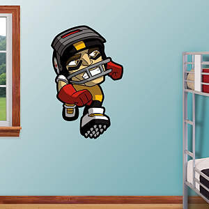 Pittsburgh Steelers Rusher Fathead Wall Decal